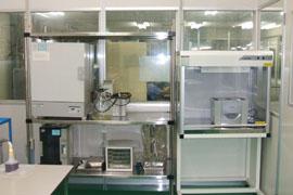 コンタミ試験機器類(クリーンルーム内)